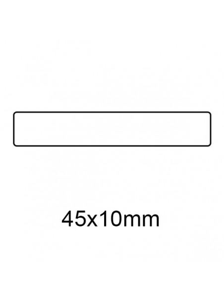 Etichette trasparenti 45x10 1000 pezzi