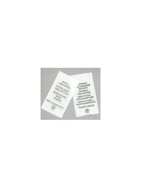 Rotolo TNT 35 mm per etichette composizione tessuti